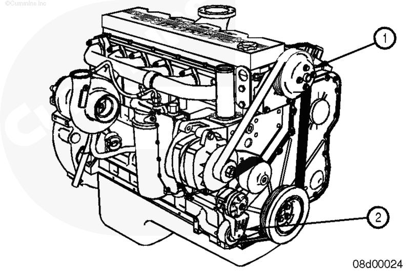 Двигатель Cummins ISL