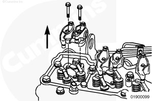 Коромысло двигателя Камминз