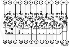 Головка блока цилиндров двигателя Cummins