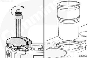 Гильза цилиндра двигателя Cummins