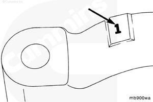 Крышка коренного подшипника двигателя Cummins