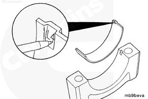 Крышка коренного подшипника двигателя Камминз